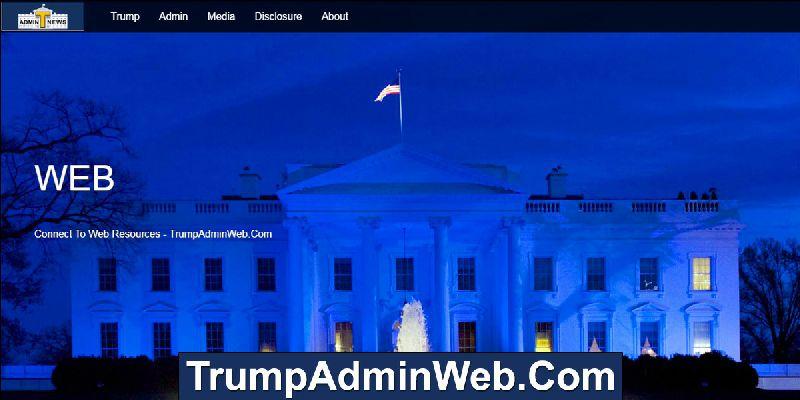 Trump Admin Web