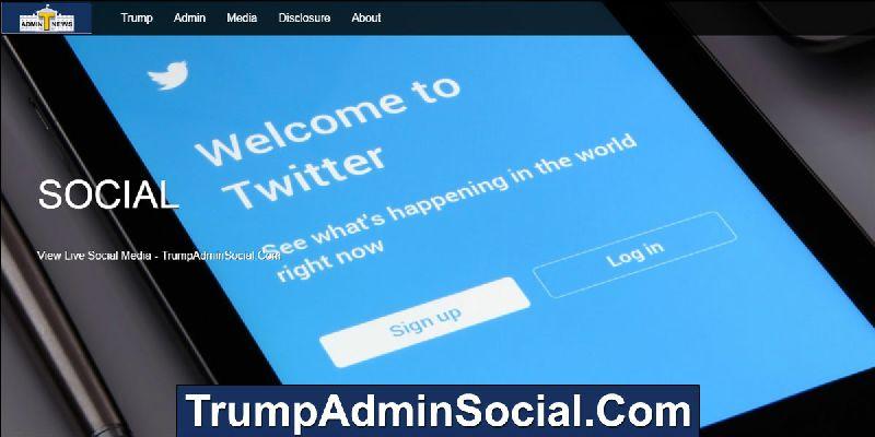 Trump Admin Social