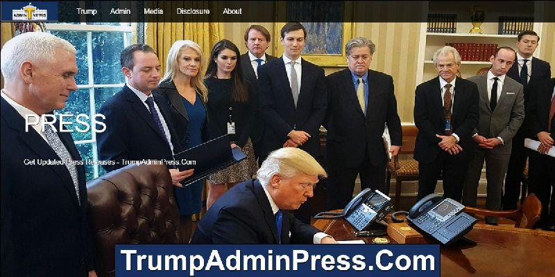 Trump Admin Press