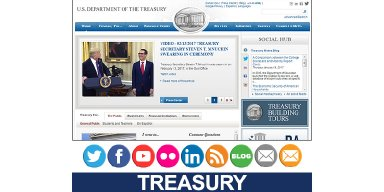 Treasury Website
